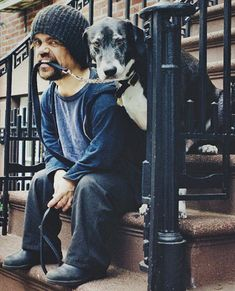 Peter Dinklage and his dog - Imgur