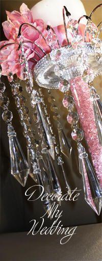 DECORATE MY WEDDING - Crystal Unity Candle