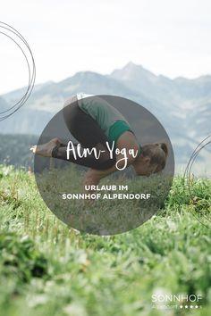Muße üben beim Yoga im Salzburger Land. Aktive-Guide Marianne zeigt Ihnen das schönste Plätzchen für eine Yoga-Session. #salzburgerland #österreich #sonnhof #vollsonnhof #yoga #yogaimurlaub #visitaustria