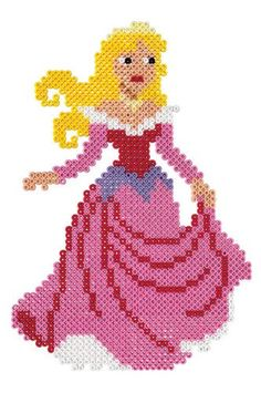 Aurora Sleeping Beauty Hama Beads