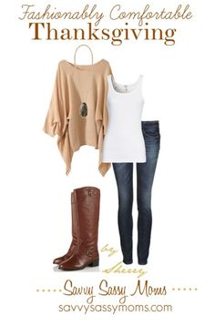 Fashionable Thanksgiving #FashionFriday | Savvy Sassy Moms