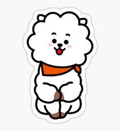 'Sticker Pack - Sticker by spacylittlegirl Buy Stickers, Printable Stickers, Bts Army Logo, Kpop Drawings, Tumblr Stickers, Kawaii Chibi, Bts Chibi, Line Friends, Cute Cartoon Wallpapers
