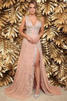 Pretty Prom Dresses, Pink Prom Dresses, Homecoming Dresses, Beautiful Dresses, Formal Dresses, High Fashion Dresses, Fashion Outfits, Long Evening Gowns, Designer Dresses