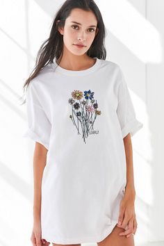 Shop Gnarly Bouquet Short Sleeve Tee at Urban Outfitters today. We carry all the latest styles, colors and brands for you to choose from right here.