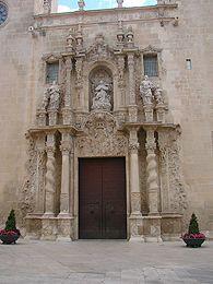 Basílica de Santa María. Un paseo por el Museo de Arte Contemporáneo de Alicante