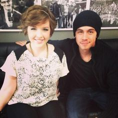 Love Degrassi. Love these two.