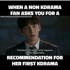 I recommend W two worlds W Kdrama, Kdrama Memes, Kdrama Actors, Korean Drama Funny, Korean Drama Quotes, Bts Memes Hilarious, 9gag Funny, Drama Fever, Drama Drama
