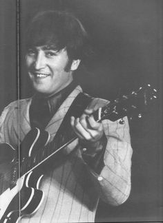 Another rare smile from John..
