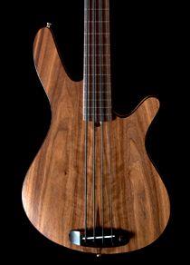 Rob Allen MB-2 Bass Guitar - Fretless, Semi-Hollow