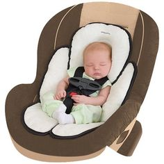 Infant Safety Car Seat Liner | Head, Neck, and Body Support Pillow ...