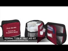 FEDERAL TYPE A FIRST AID KIT First Aid Kit, Workplace, Safety, Lunch Box, Type, Shop, Federal, Survival First Aid Kit, Security Guard