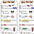 This is a fun way to teach test taking strategies. Grab a copy...Test Taking Strategy Bookmark checklist. For more ideas, visit First Grade Fanatic...