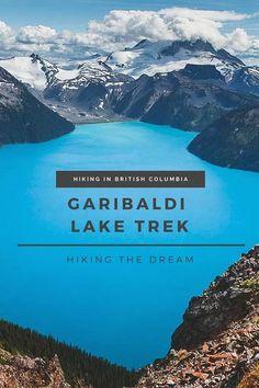 Garibaldi Lake and Panorama Ridge Trek Hiking in Canada's British Columbia is just incredible. Stunning views, crystal clear lakes, and surrounding mountains. Quebec, Montreal, Gros Morne, Lake Camping, Camping Gear, Camping Chairs, Camping Places, Hiking Gear, Camping Equipment