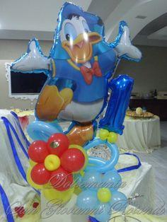 #dolcemania #palloncini #puglia #paperino #sangiovannirotondo #balloons #donaldduck #disney #gargano #italy #cavallinorosso #compleanno #festa #idea