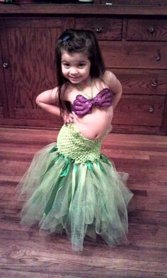 ariel costume for girl - Google Search
