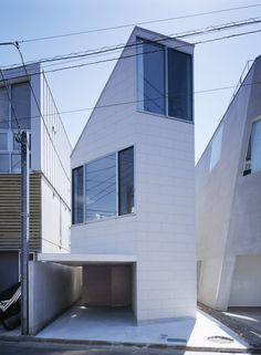 "Matsubara House by Hiroyuki Ito + O.F.D. ""Location: Setagaya-ku,Tokyo,Japan"" 2008"