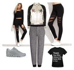 """Untitled #603"" by domla ❤ liked on Polyvore featuring Joseph, NIKE, B. Ella and Topshop"