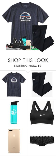 """Life update// RTD"" by laurenmf ❤ liked on Polyvore featuring Patagonia and NIKE"