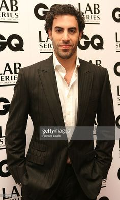 Sacha Baron Cohen during GQ Men of the Year Awards - Inside Arrivals at Royal Opera House in London, Great Britain.