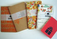 Combos with 5 handmade notebooks.