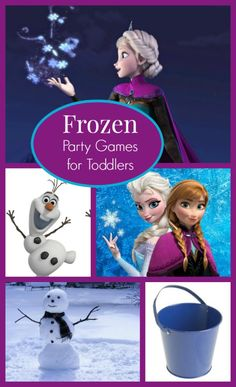 There is no doubt that the hottest movie of the year for kids is Disney's Frozen.  Which means there are many requests for Frozen birthday parties!  But where do you begin when it comes to creating fun, Frozen party games for toddlers?