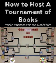 How to Host a Tournament of Books in the Primary Classroom with help from your iPads!