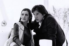 Han and Leia - Bespin