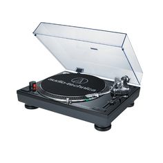 8: Audio Technica AT-LP120BK-USB Direct-Drive Professional Turntable (USB & Analog), Black