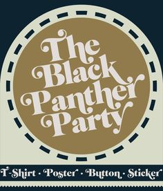 The Black Panther Party on Behance