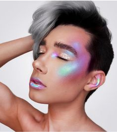 James Charles, AKA @jcharlesbeauty, was just named the first-ever male CoverGirl, and there's a damn good reason why! He leaves big-name makeup artists in the dust with his inventive looks and famously glowing cheek bones. Here are some of his best glam looks perfect for Halloween.