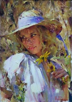 Garmash FLIRTING WITH SUNLIGHT painting | framed paintings for sale