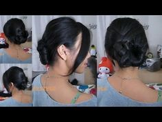 I have never been able to do a traditional French twist on my super thick hair, I find this alternative style to be quite comfortable and long-lasting.  Hope you give it a try!  Don't worry if your hair doesn't come out exactly like mine...this hairstyle seems to look slightly differently every time I do it :)      For anyone who is interested, ...