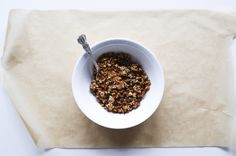 the easiest and best gluten free granola