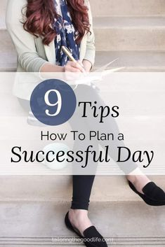 Having a successful day has a lot to do with planning. I have 9 tips for you how you can plan your day and get some structure with room for spontaneity.