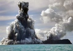 Underwater volcano eruptions fascinate us. One of the most powerful natural phenomena occurs when a volcano gets all pissed off and starts spewing fire. This can, and frequently does, happen underwater. To celebrate nature's serious rage, we found 25 underwater volcanoes that caused Mother Nature to make the water all bubbly: