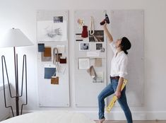 Whether you're going it solo or with a partner, there are eight essential questions you should answer as you navigate the first-time home buying process. Home Buying Tips, Buying Your First Home, Home Buying Process, Office Decor, Home Office, New Living Room, New Homes, House Design, Inspiration