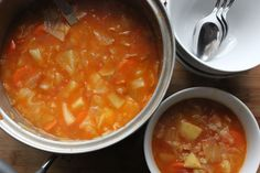 Čušpajz (Cabbage Soup)