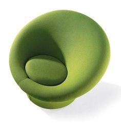 Design armchair by Pierre Paulin MUSHROOM