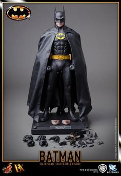 1989 BATMAN - Hot Toys Collectible Action Figure - News - GeekTyrant