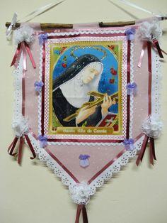 Estandarte Santa Rita de Cássia