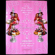 """Ein """"Genussbuch"""". Was man damit anfängt weiß ich nicht so genau.  Ist schön anzuschauen, ein bisschen sexy, sonst aber sinnfrei.  http://aus-meinem-kochtopf.de/2011/zuckersuess-das-liebeskochbuch-sexy/"""