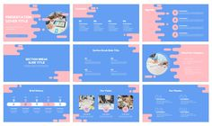 Flat style background Free Google Slides Theme PowerPoint Template