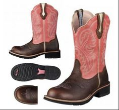 Ariat Boots Fat Baby Womens Brown Cowboy western Size 9.5B #Ariat ...