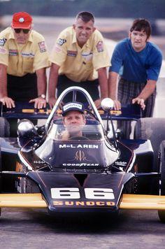 Mark Donohue Indy 500 1971 McLaren M16