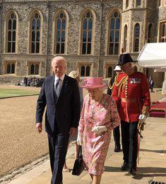 Royal Uk, Royal Life, Jill Biden, Prince Phillip, Windsor Castle, Us Presidents, Queen Elizabeth Ii, British Royals, Receptions