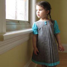 cotton girls' dress