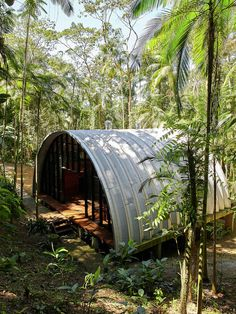 A Remote Residence In A Brazilian Forest / by Atelier Marko Brajovic