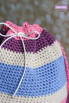 Aubrie's Crochet Big Kid Backpack | Back to School Series