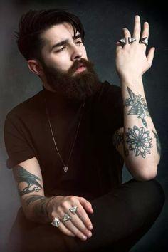 El Tatuaje De Mi Afecto: Barbas + Tattoos   Vagabundos MX