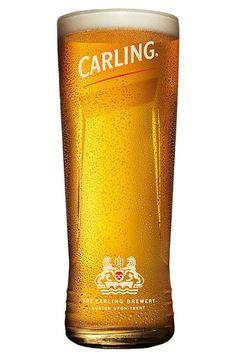 Carling ölglas pint - England - Ölglas - Barshopen.com Brewery, England, Glass, Drinkware, British, Glas, Mirrors